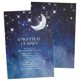 New Moon Foil Invitation