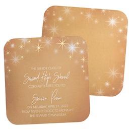 StarGlow Foil Invitation