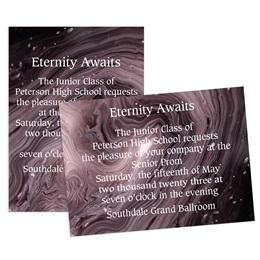 Galaxy Swirl 4x6 Invitation
