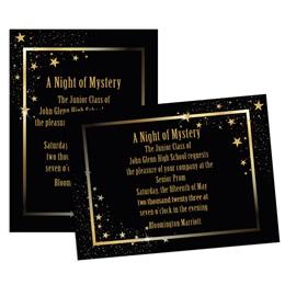 Shining Stars 4x6 Invitation