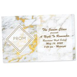 Full-color Ticket - Marble Prom