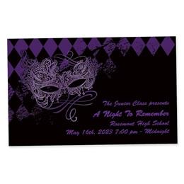 Full-color Ticket - Violet Masquerade
