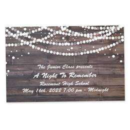 Full-color Ticket - Rustic Glam
