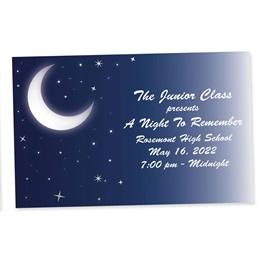 Full-color Ticket - Moonlit Night