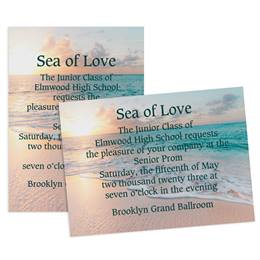 Seascape 5x7 Invitation