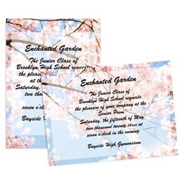 Cherry Blossom 5x7 Invitation