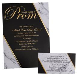 Luxury Invitation/Ticket Set - Formal Elegance
