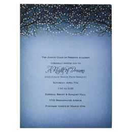 Twinkle Tree Invitation