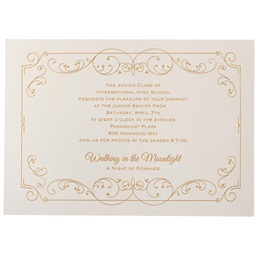 Touch of Elegance Invitation