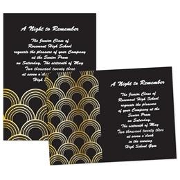 """5"""" x 7"""" Invitation - Golden Arches"""