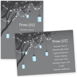 "5"" x 7"" Invitation - Lantern Lights"