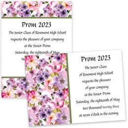 Floral Fantasy 5x7 Invitation