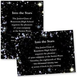 "Sky Sparkle 4"" x 6"" Invitation"