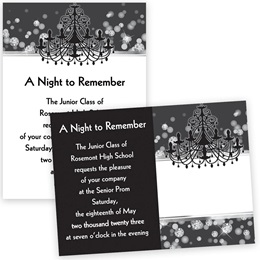 Diamond Ballroom 4x6 Invitation