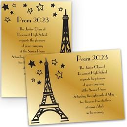 Paris Starlight 4x6 Invitation