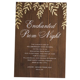 Rustic Garden Invitation