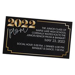 2020 Prom Luxury Ticket