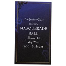 Sapphire Blue Luxury Ticket