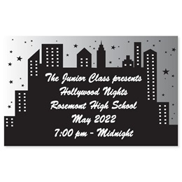 Full-color Ticket - Cityscape
