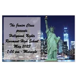 Full-color Ticket - New York Night