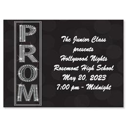 Full-color Ticket - Diamond Prom