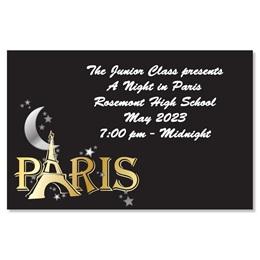 Full-color Ticket - Moon Over Paris