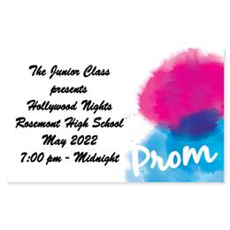 Full-color Ticket - Painted Prom