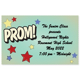 Full-color Ticket - PROM! Stars