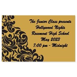 Full-color Ticket - Ornate Filigree
