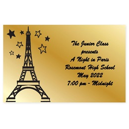 Full-color Ticket - Paris Starlight