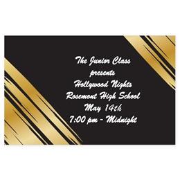 Full-color Ticket - Golden Glam