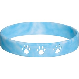 Paw Cut-out Wristband – Light Blue