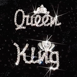 King and Queen Pin Set
