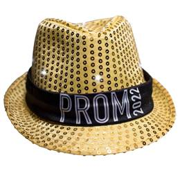 Gold Light-up Fedora with Prom 2020 Band