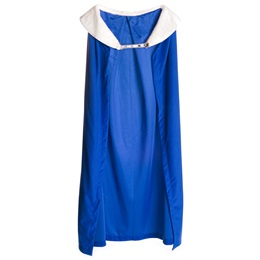49 in Blue Robe with Collar