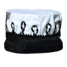 White/Black Coronation Crown