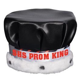 Crown with Diagonal Stripe Band