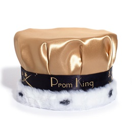 Crown with Gold Shooting Stars Band