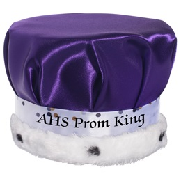 Crown With Metallic Dots Band