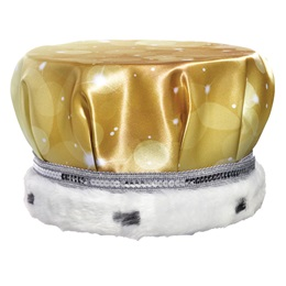 Full-color Crown - Gold Bubbles