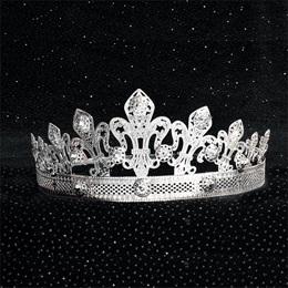 Silver Fleur-de-lis Crown