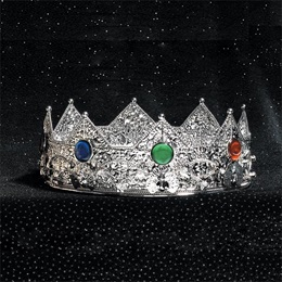 Silver Charlamagne Crown