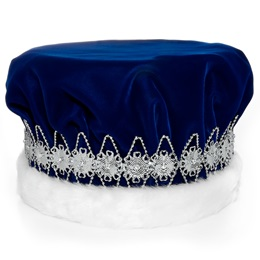 Blue/Silver Regal Crown