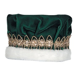 Green/Gold  Regal Crown
