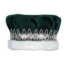 Green/Silver Regal Crown