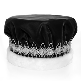 Black/Silver Regal Crown