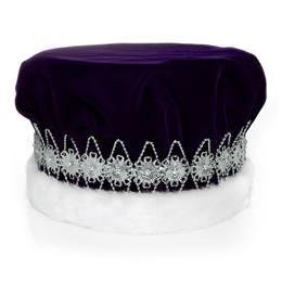 Purple/Silver Regal Crown