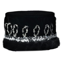 Black Coronation Crown