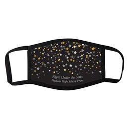 Full-color 3-Layer Face Mask - Starry Sky