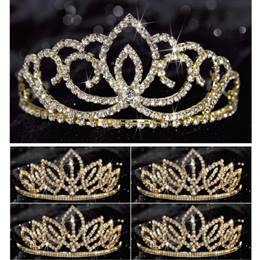 Tiara Set - Gold Sasha Queen and Gold Toni Court